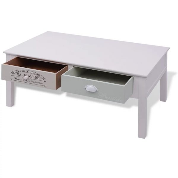 French Coffee Table Wood 5