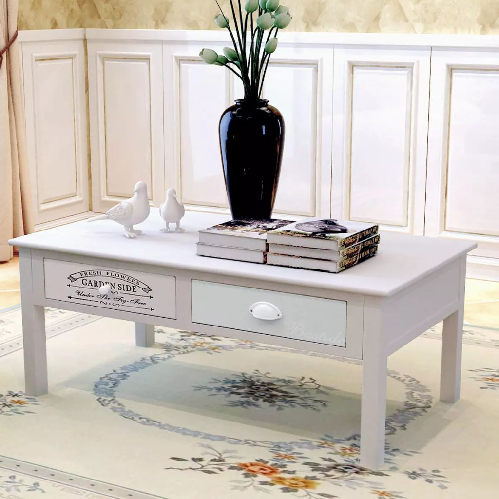 French Coffee Table Wood 1