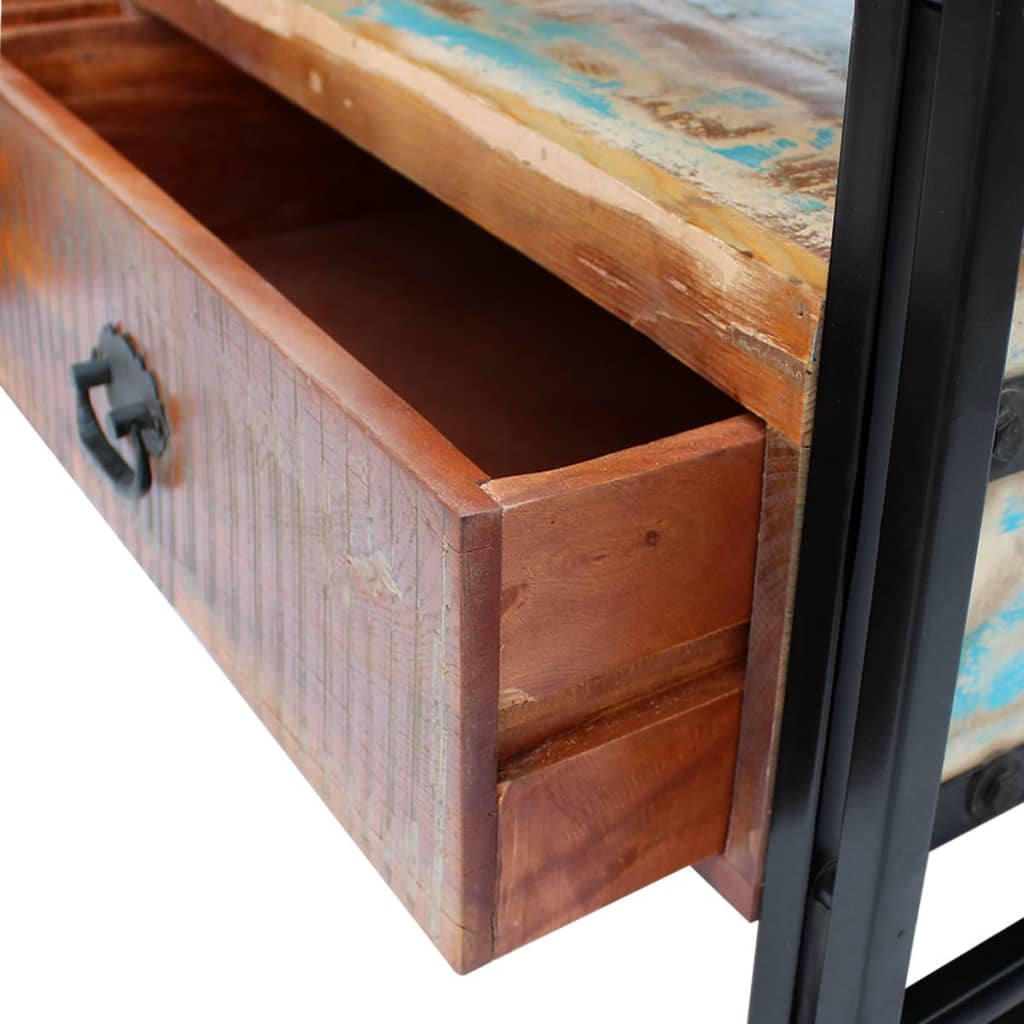 TV Cabinet Solid Reclaimed Wood 8