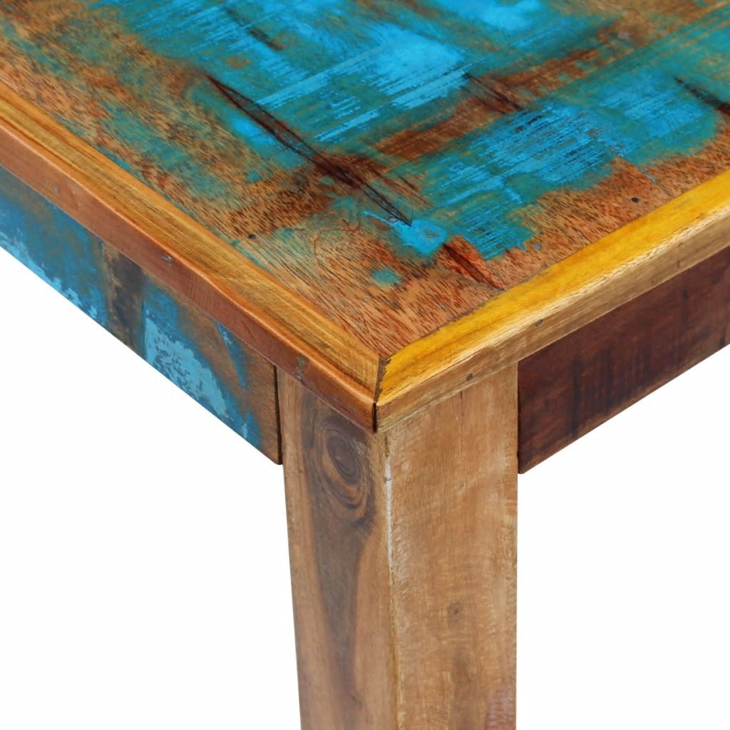 Coffee Table Solid Reclaimed Wood 100x60x45 cm 7