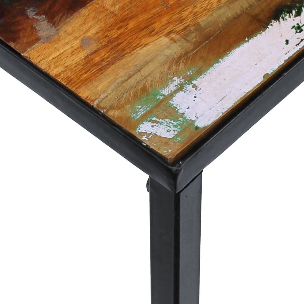 Coffee Table Solid Reclaimed Wood 100x60x40 cm 7
