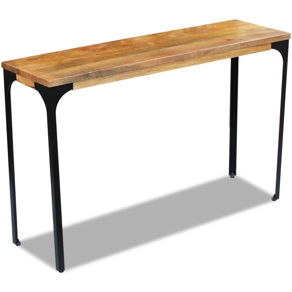 Console Table Mango Wood 120x35x76 cm 2