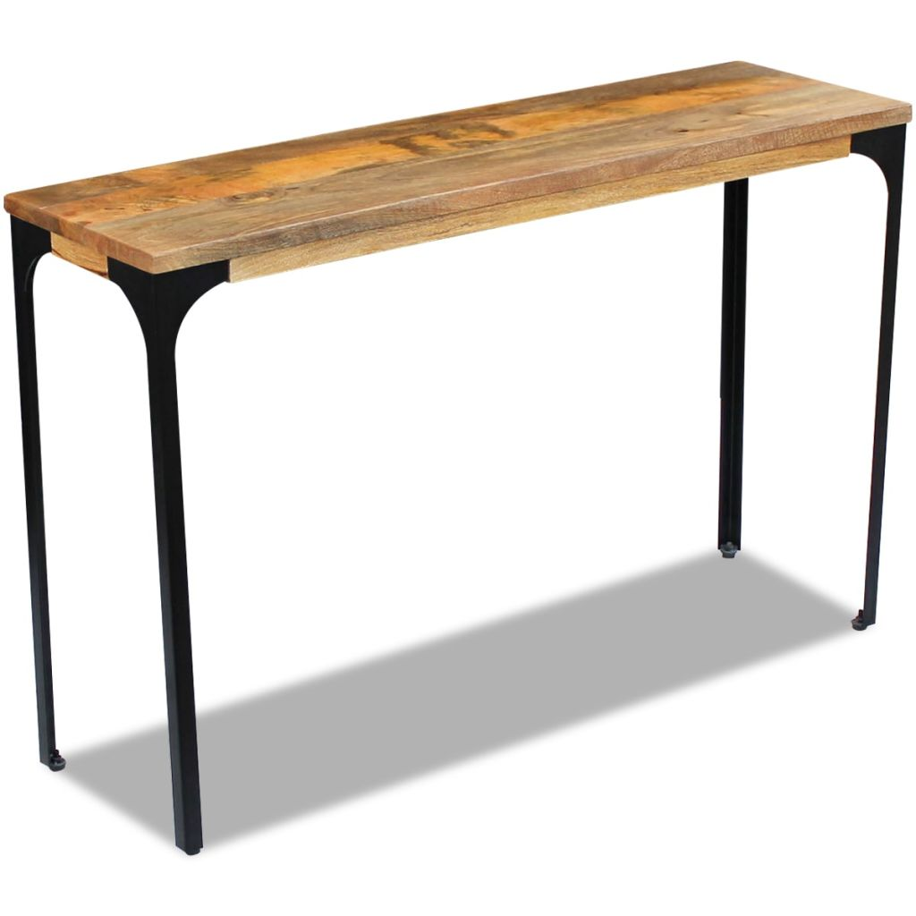 Console Table Mango Wood 120x35x76 cm 4