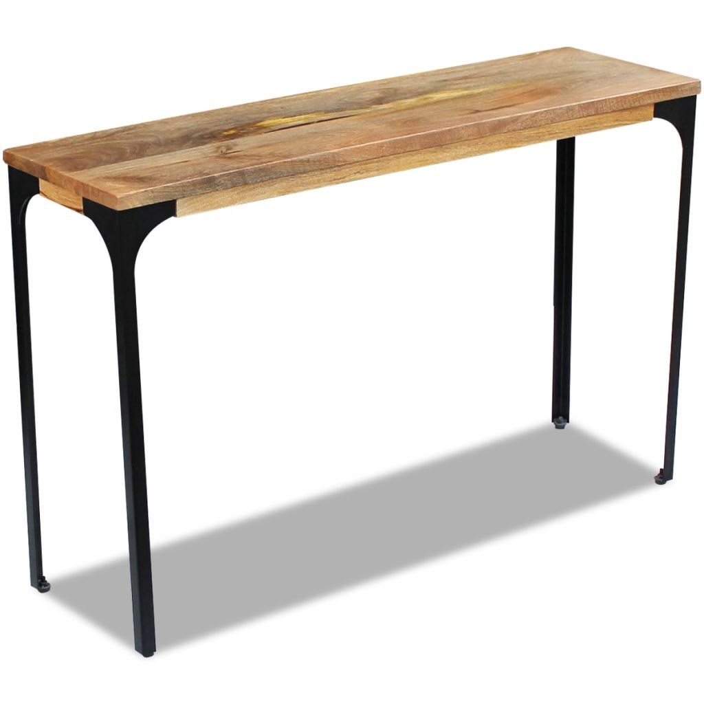 Console Table Mango Wood 120x35x76 cm 5