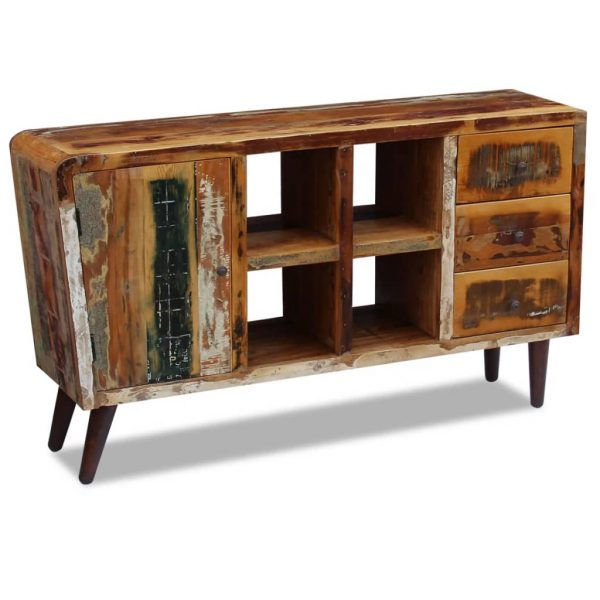 Sideboard Solid Reclaimed Wood 150x40x86 cm 4