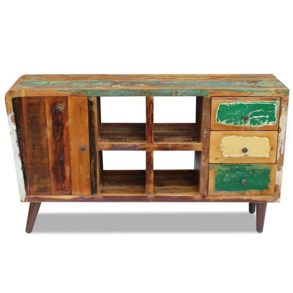 Sideboard Solid Reclaimed Wood 150x40x86 cm 6