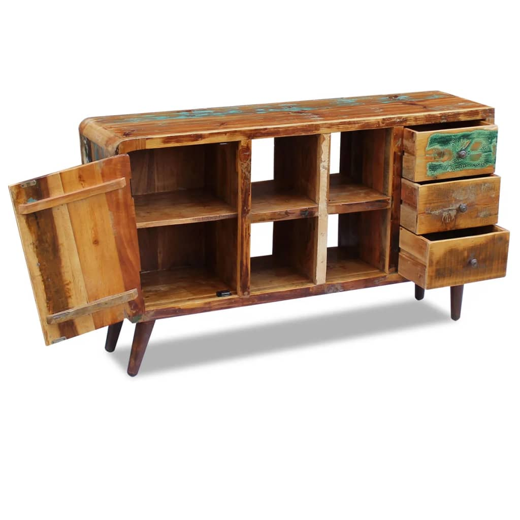 Sideboard Solid Reclaimed Wood 150x40x86 cm 7