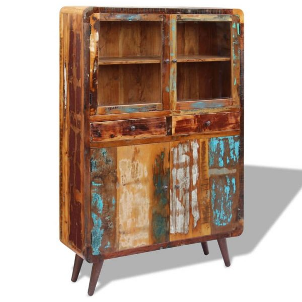 Sideboard Solid Reclaimed Wood 120x38x180 cm 1