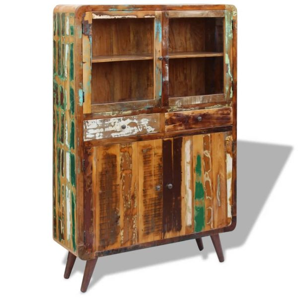 Sideboard Solid Reclaimed Wood 120x38x180 cm 4