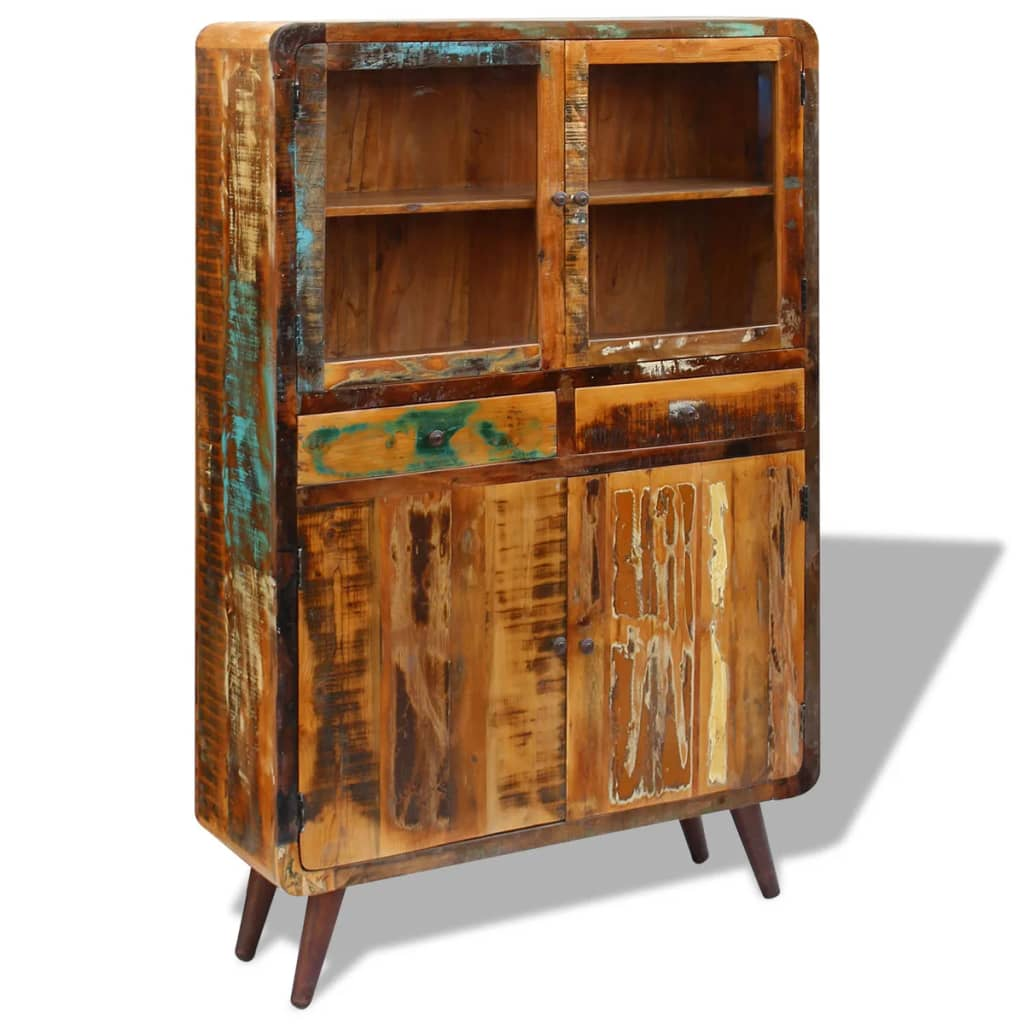 Sideboard Solid Reclaimed Wood 120x38x180 cm 5