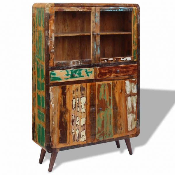 Sideboard Solid Reclaimed Wood 120x38x180 cm 6