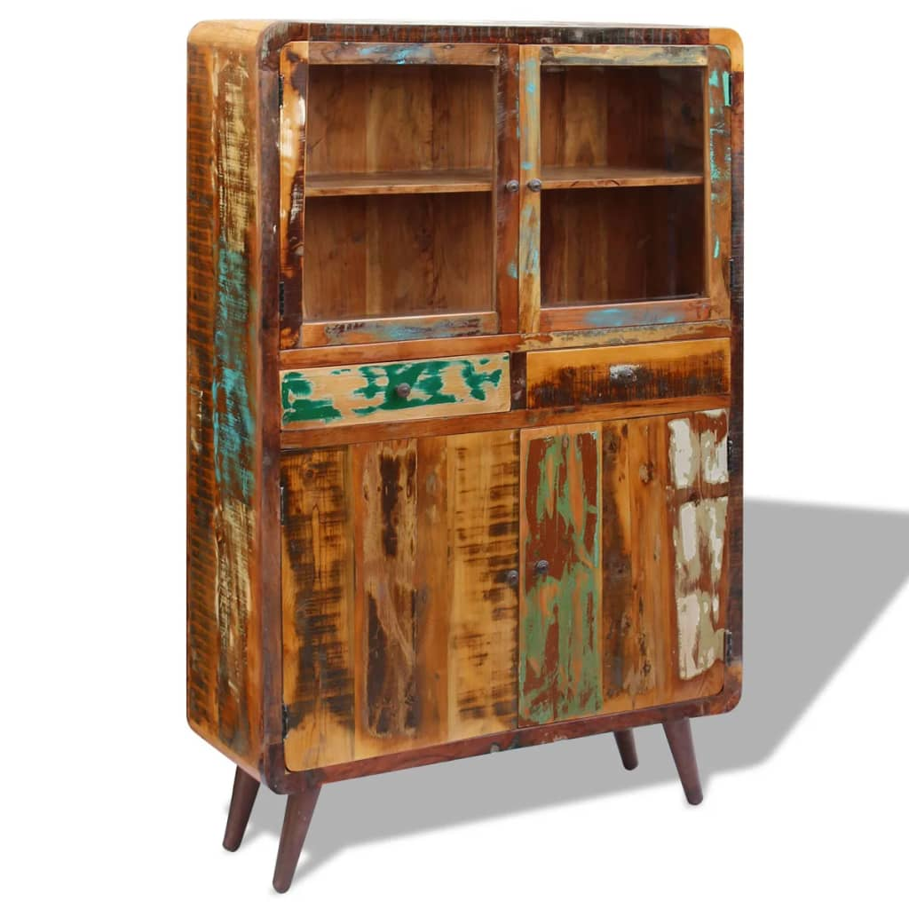 Sideboard Solid Reclaimed Wood 120x38x180 cm 7