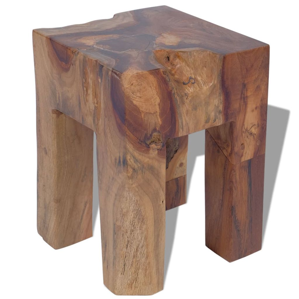 Stool Solid Teak Wood 1