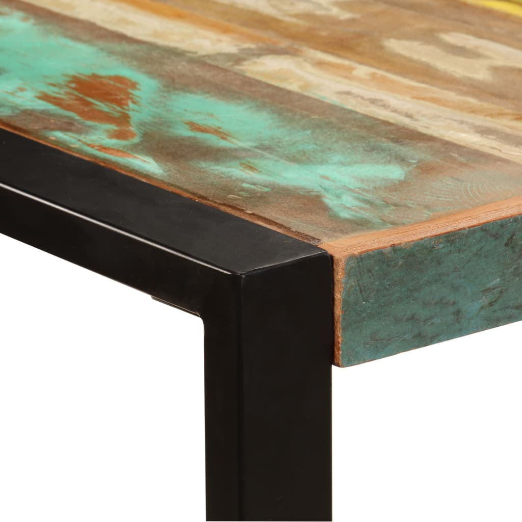 Dining Table 220x100x75 cm Solid Reclaimed Wood 3