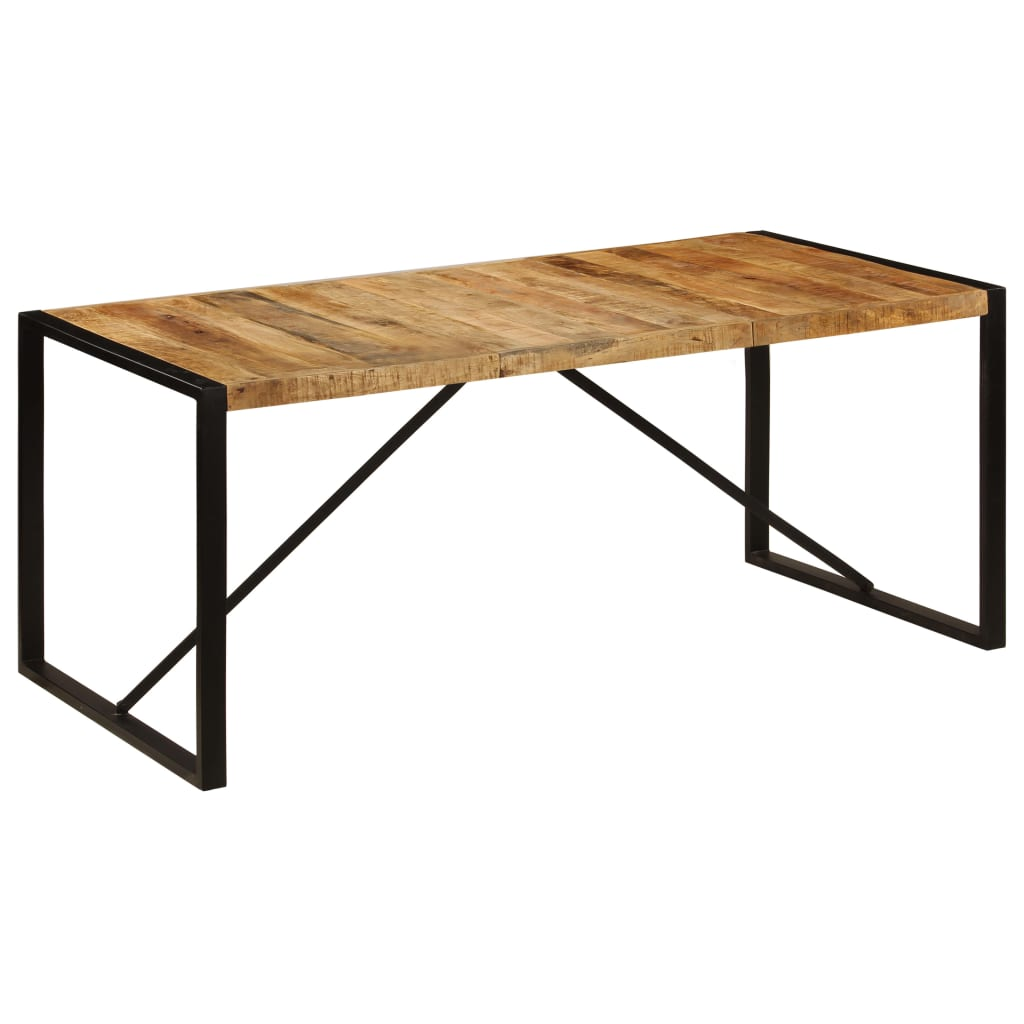 Dining Table 180x90x75 cm Solid Mango Wood