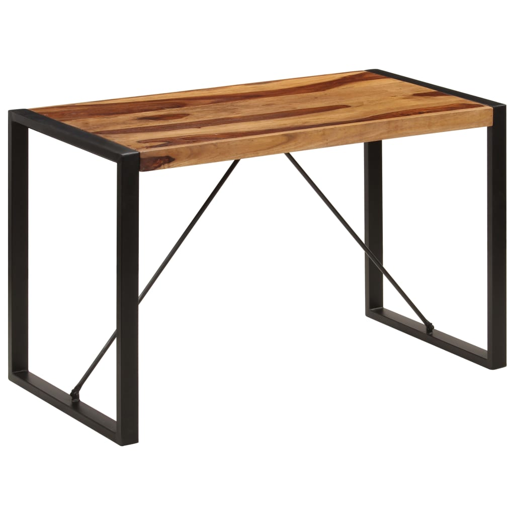 Dining Table 120x60x76 cm Solid Sheesham Wood