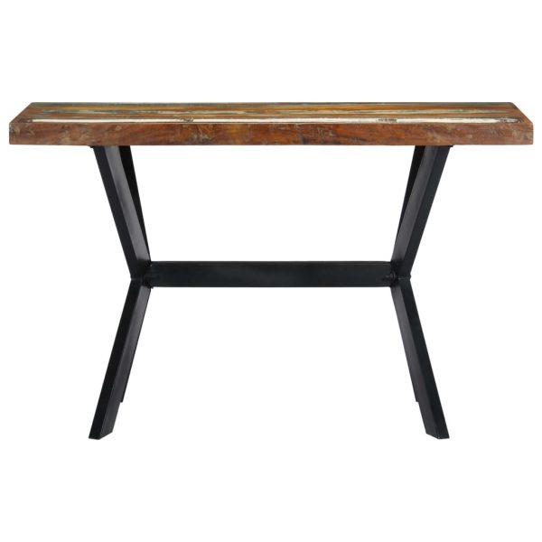 Dining Table 120x60x75 cm Solid Reclaimed Wood 2