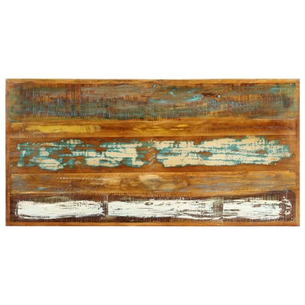 Dining Table 120x60x75 cm Solid Reclaimed Wood 4