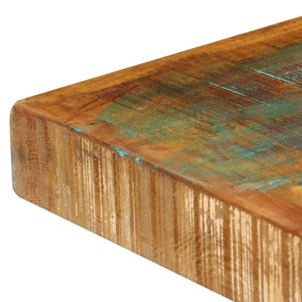 Dining Table 120x60x75 cm Solid Reclaimed Wood 5