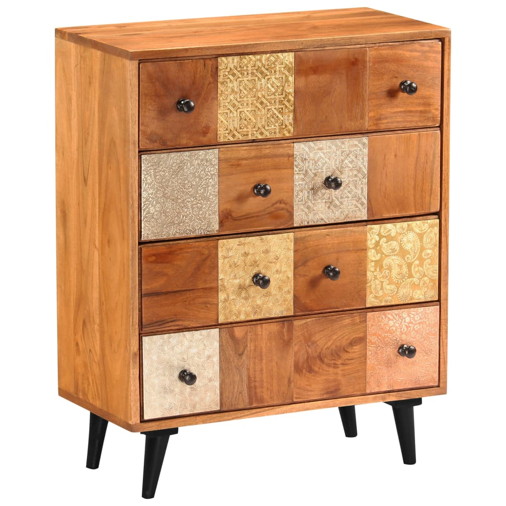 Chest of Drawers 60x30x75 cm Solid Acacia Wood 11