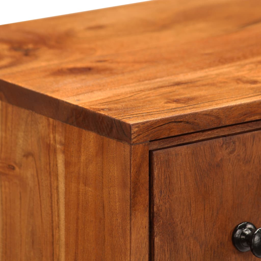 Chest of Drawers 60x30x75 cm Solid Acacia Wood 7