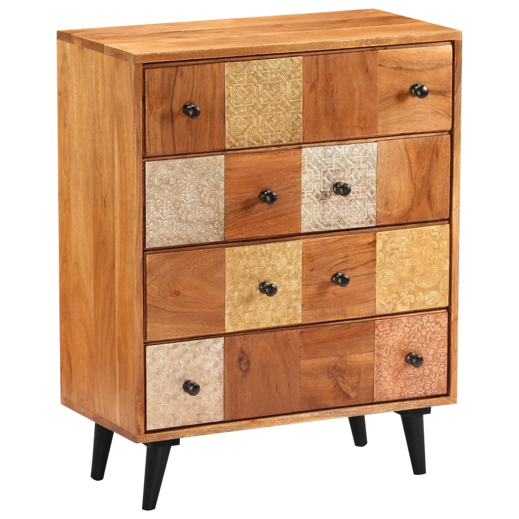 Chest of Drawers 60x30x75 cm Solid Acacia Wood 9
