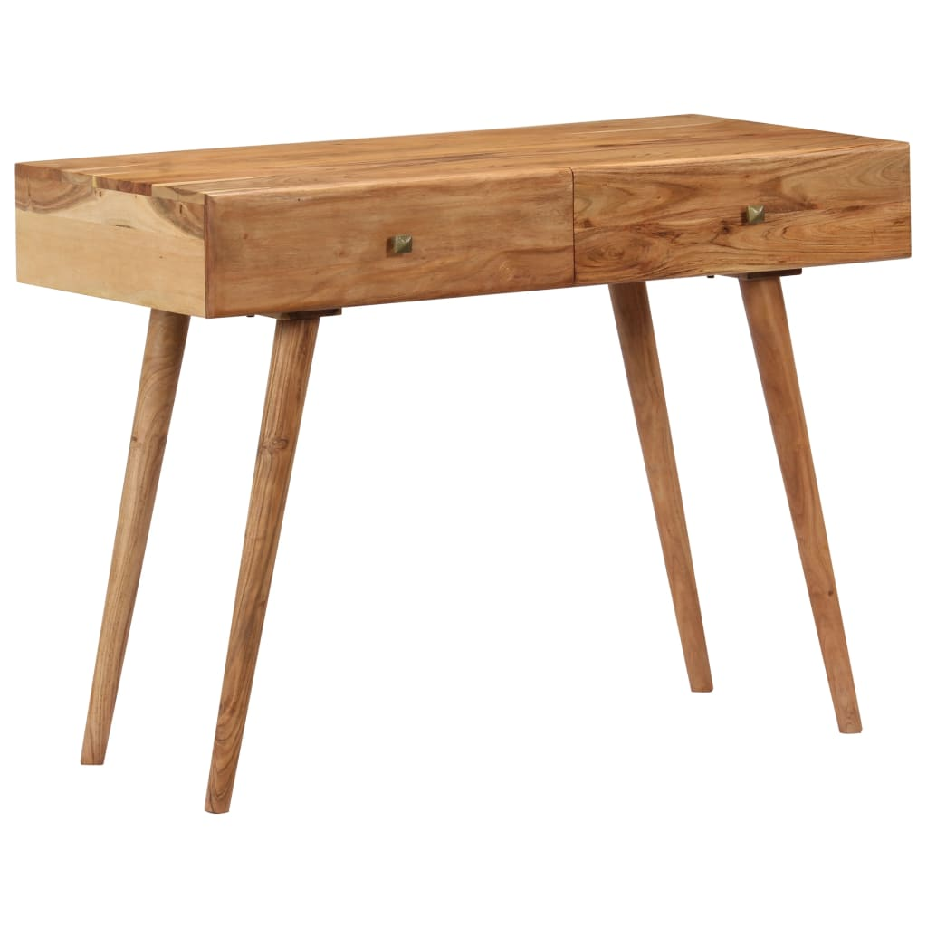 Desk 100x51x76 cm Solid Acacia Wood 1
