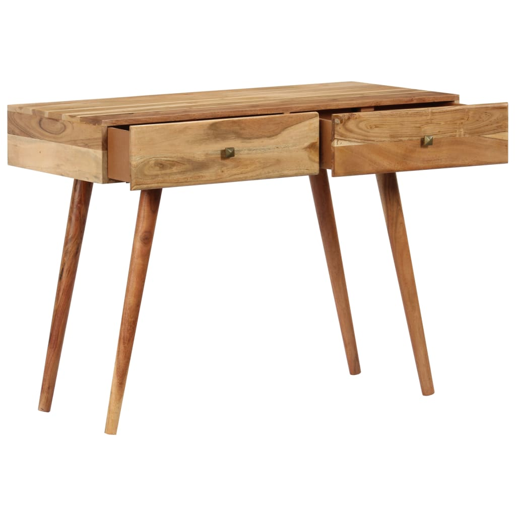 Desk 100x51x76 cm Solid Acacia Wood 4