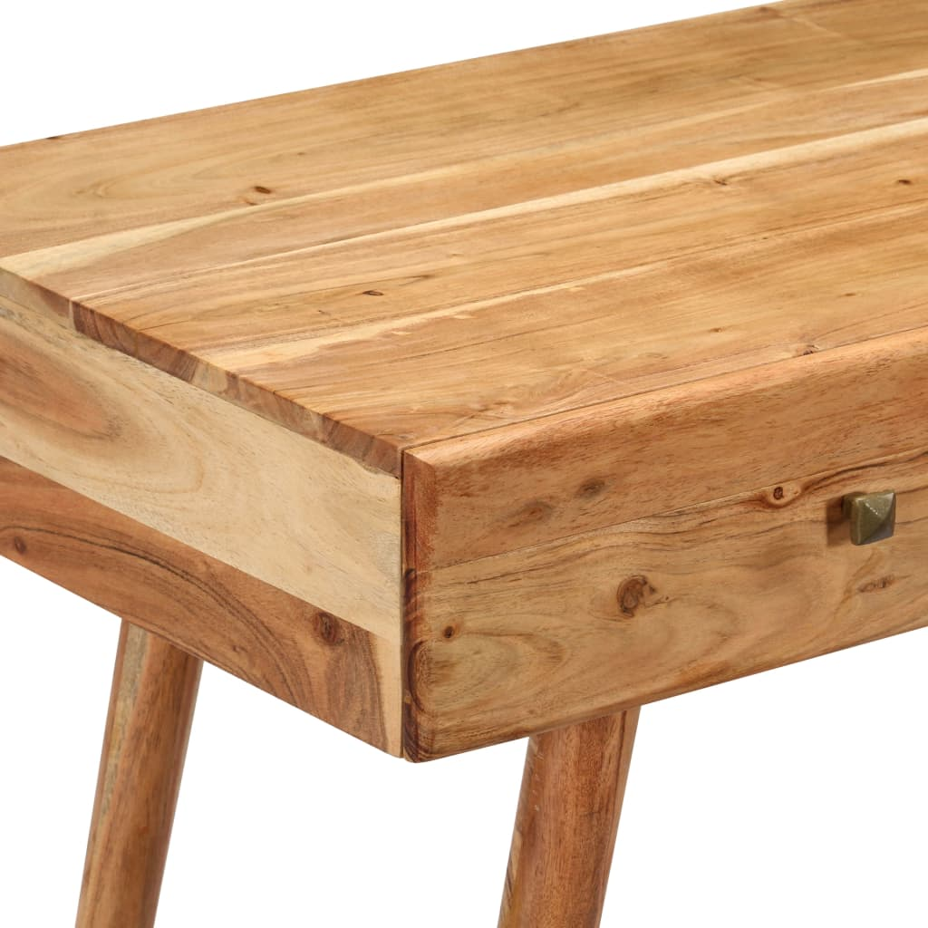 Desk 100x51x76 cm Solid Acacia Wood 5