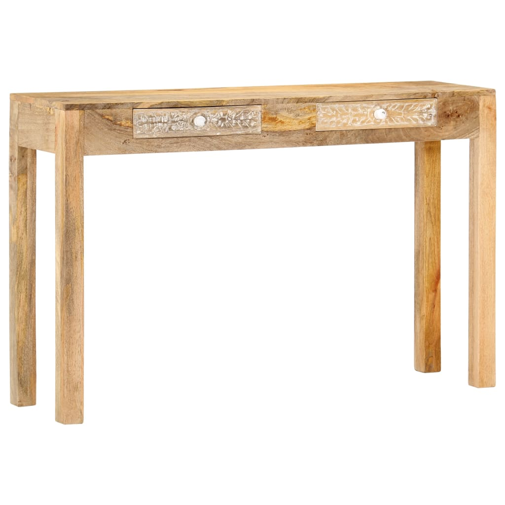 Console Table 120x30x75 cm Solid Mango Wood