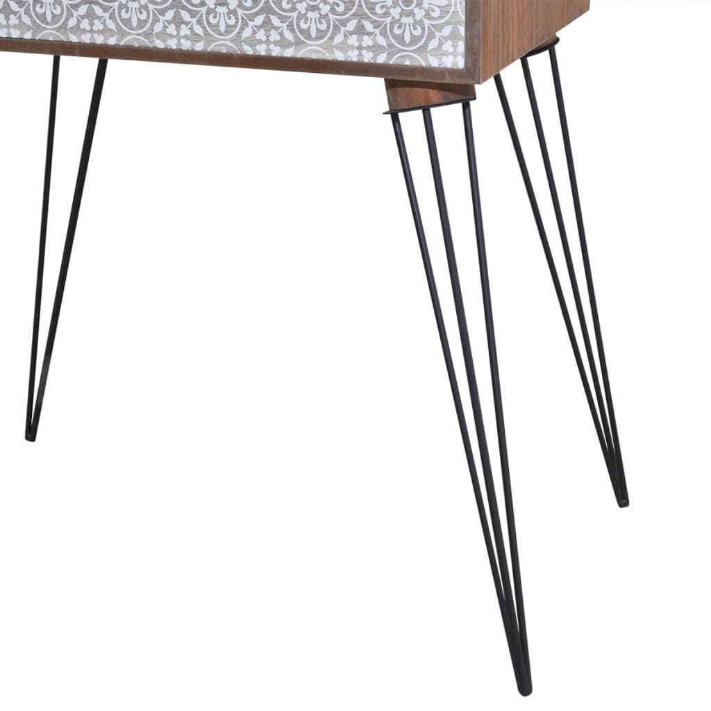 Nightstands with Drawer 2 pcs Brown 6