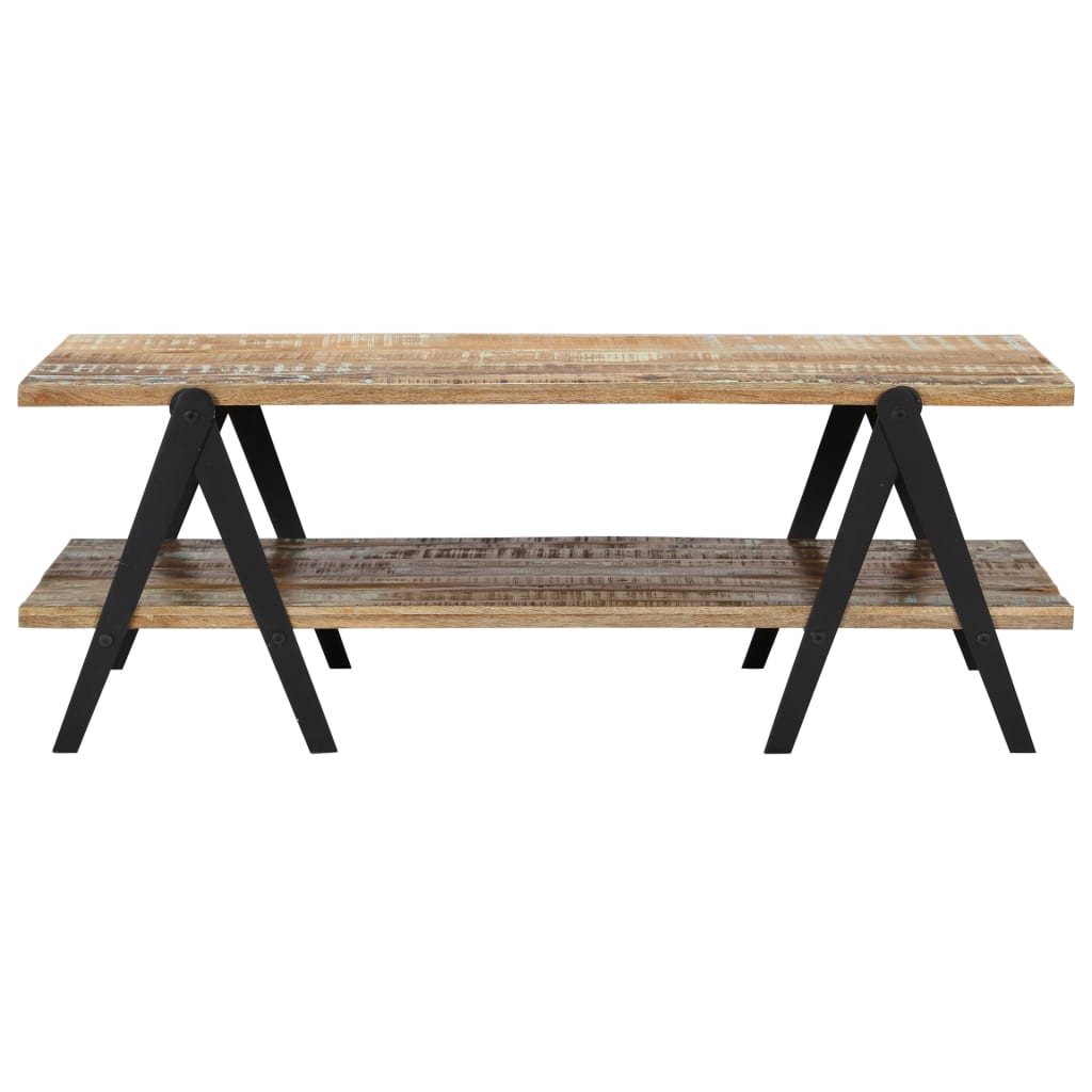Coffee Table 115x60x40 cm Solid Reclaimed Wood 3