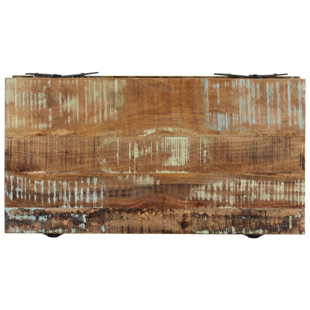 Coffee Table 115x60x40 cm Solid Reclaimed Wood 4