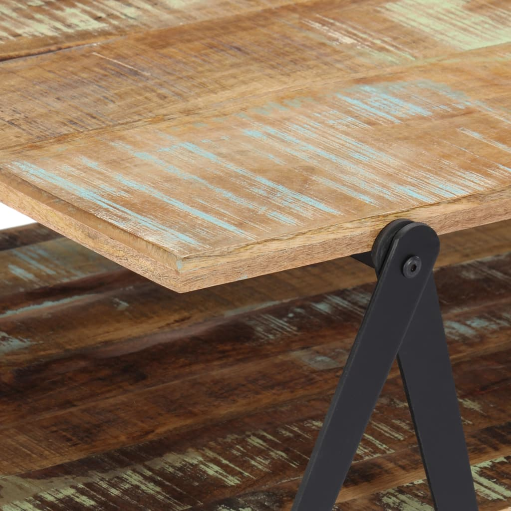 Coffee Table 115x60x40 cm Solid Reclaimed Wood 5