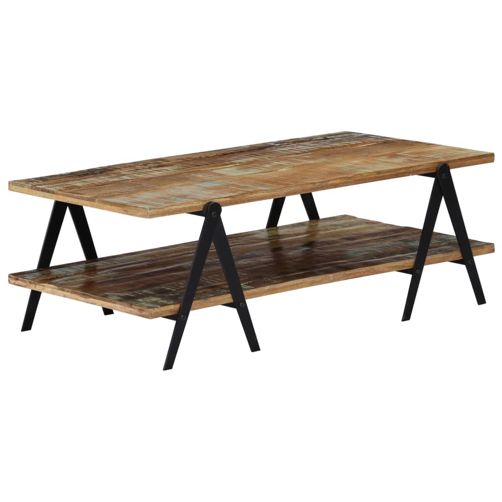 Coffee Table 115x60x40 cm Solid Reclaimed Wood 10