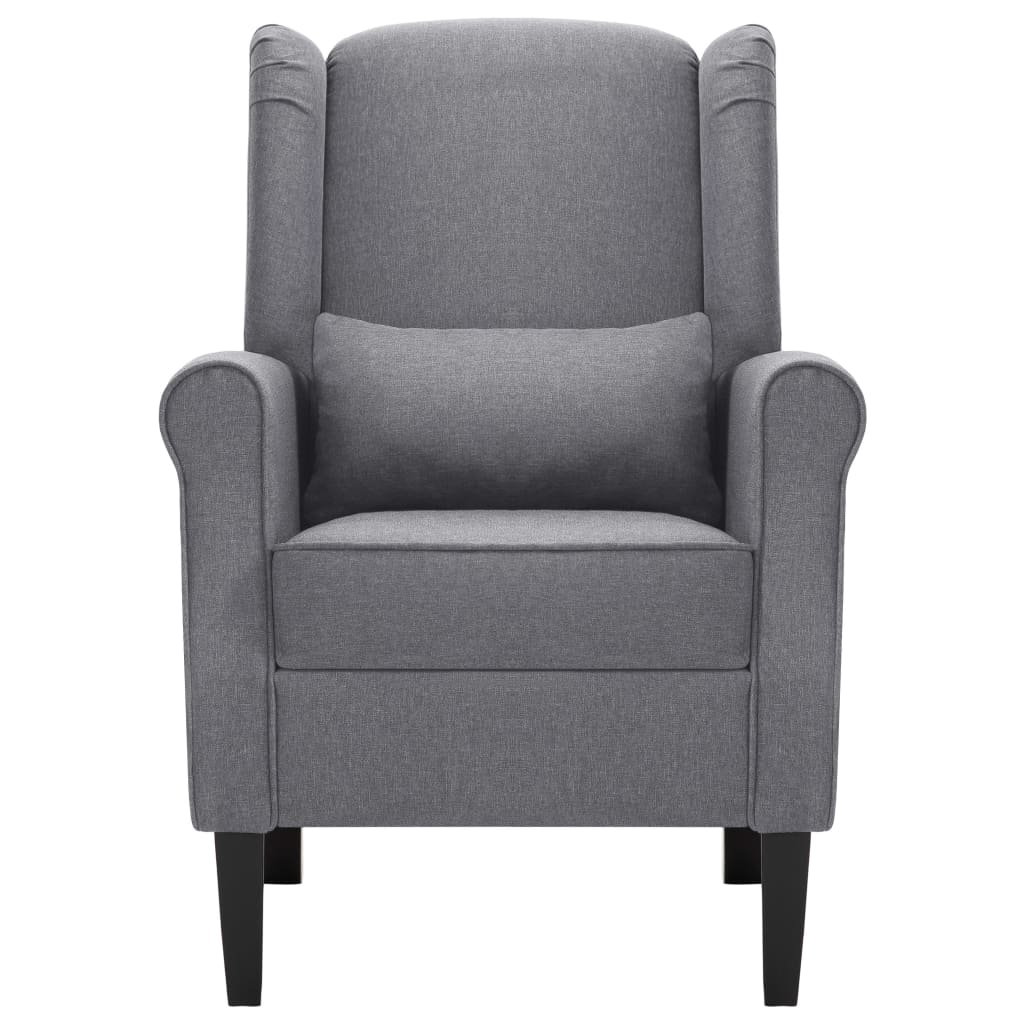 Armchair Dark Grey Fabric 4
