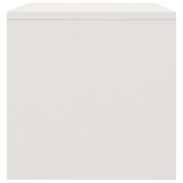 Bedside Cabinets 2 pcs High Gloss White 40x30x30 cm Chipboard 6