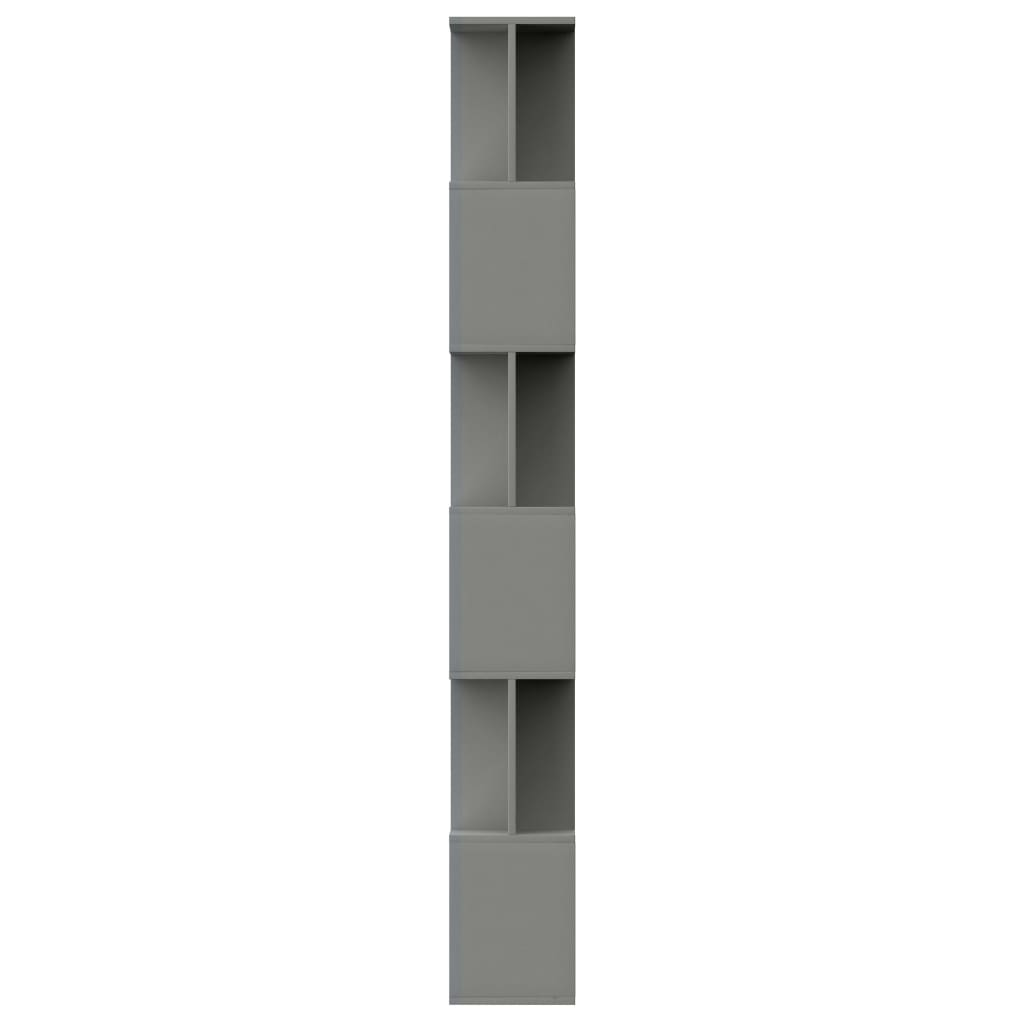 Book Cabinet/Room Divider Grey 80x24x192 cm Chipboard 6