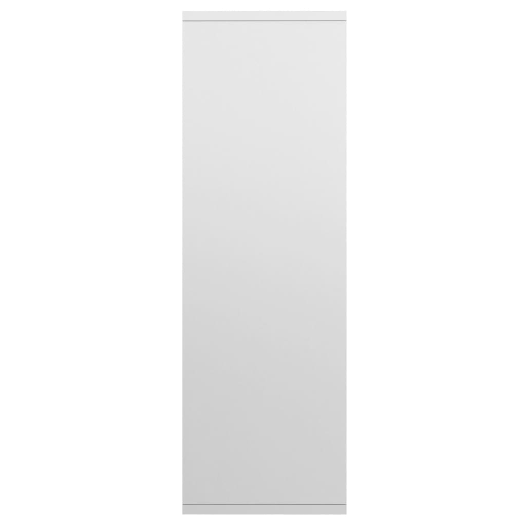 Book Cabinet/Sideboard High Gloss White 45x25x80 cm Chipboard 7