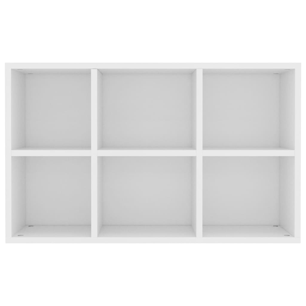 Book Cabinet/Sideboard White 50x25x80 cm Chipboard 8