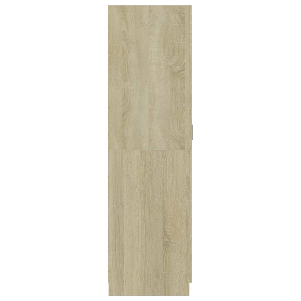 Wardrobe Sonoma Oak 80x52x180 cm Chipboard 7