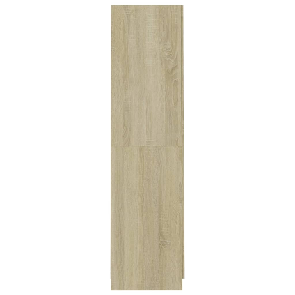 Wardrobe Sonoma Oak 90x52x200 cm Chipboard 7
