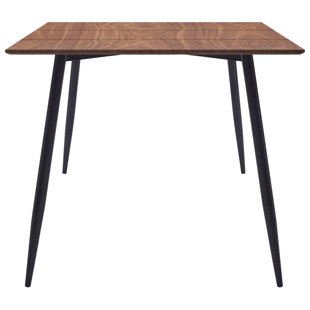 Dining Table Brown 200x100x75 cm MDF 3