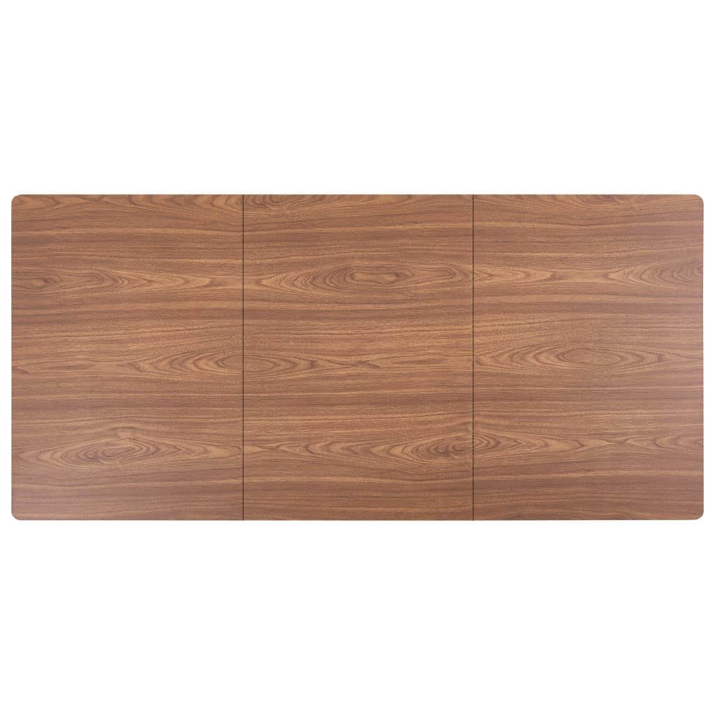 Dining Table Brown 200x100x75 cm MDF 5