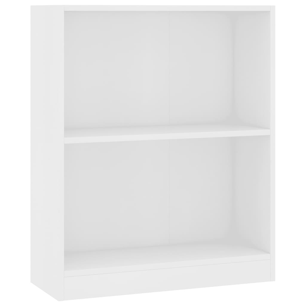 Bookshelf White 60x24x74,5 cm Chipboard 2