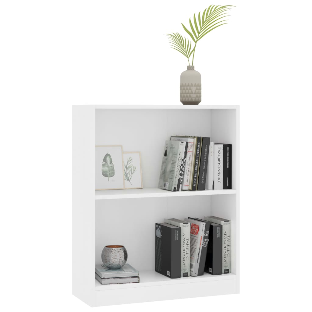 Bookshelf White 60x24x74,5 cm Chipboard 3