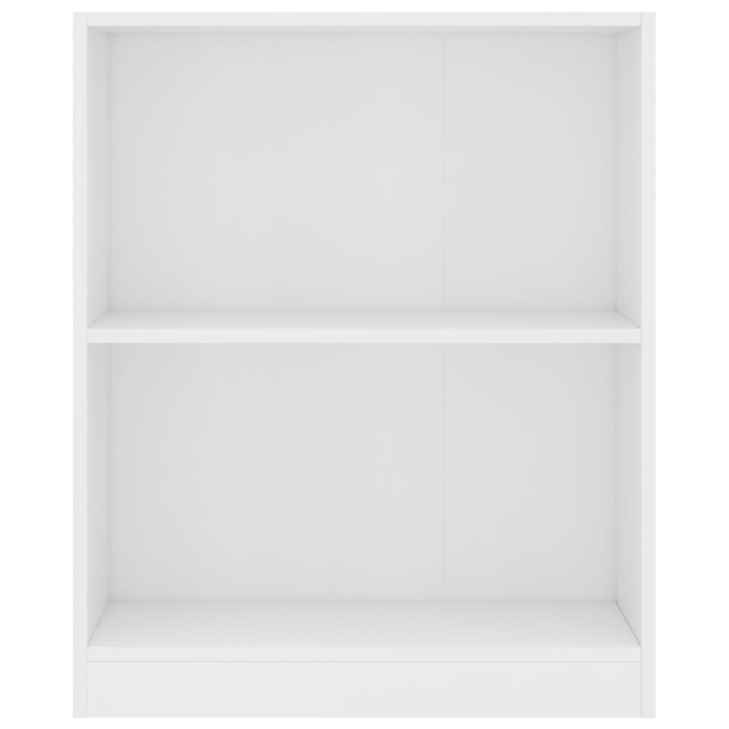 Bookshelf White 60x24x74,5 cm Chipboard 4