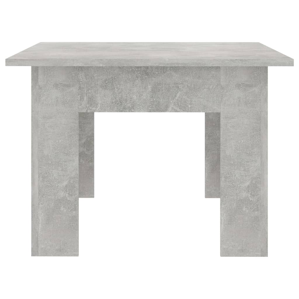 Coffee Table Concrete Grey 100x60x42 cm Chipboard 5