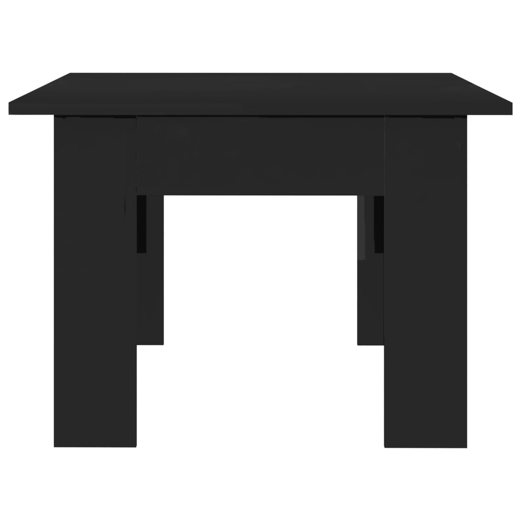 Coffee Table High Gloss Black 100x60x42 cm Chipboard 5