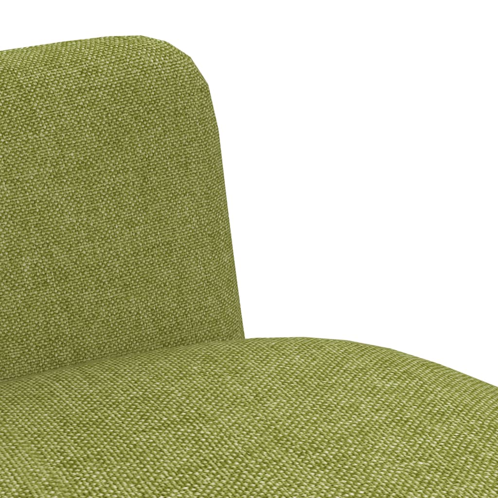 Dining Chairs 6 pcs Green Fabric 6